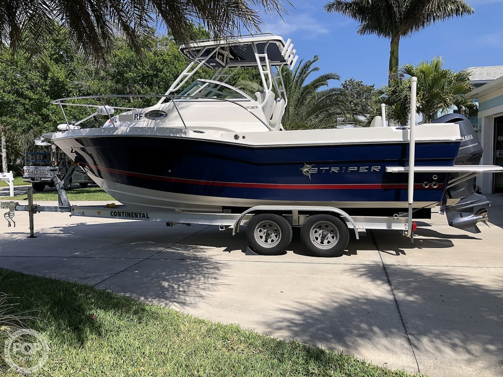 2017 Striper boat for sale, model of the boat is 230 & Image # 21 of 40