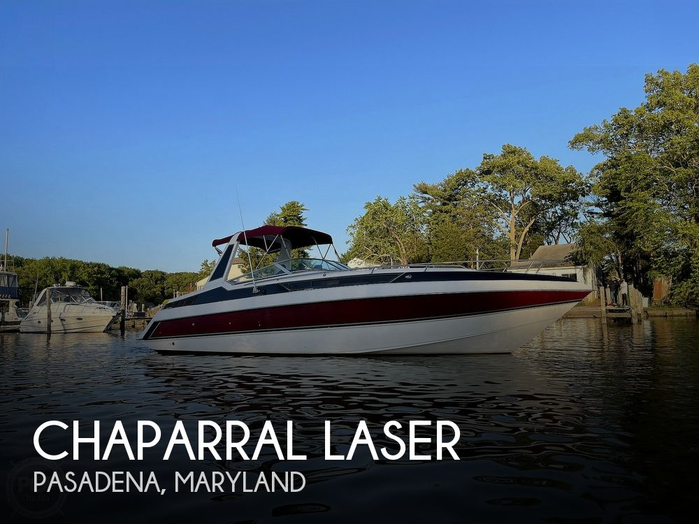 1988 Chaparral boat for sale, model of the boat is Laser & Image # 1 of 40
