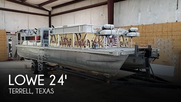 Used Lowe Pontoon Boats For Sale by owner | 1988 Lowe 24'
