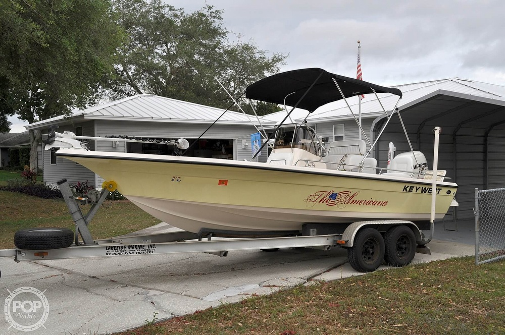 2007 Key West boat for sale, model of the boat is 216 Bay Reef & Image # 2 of 40