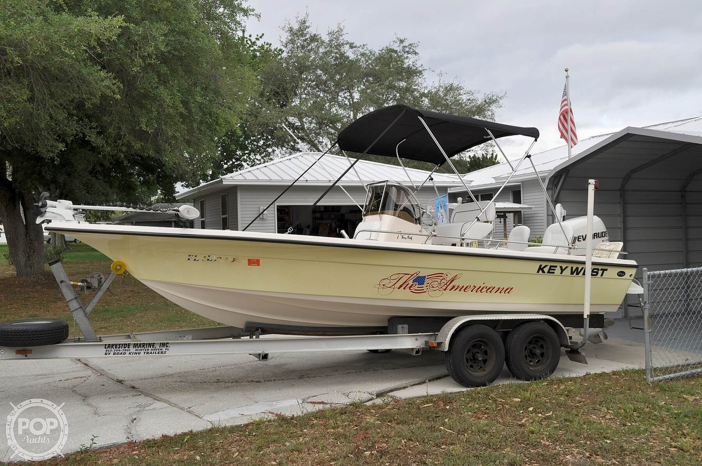 2007 Key West boat for sale, model of the boat is 216 Bay Reef & Image # 3 of 40