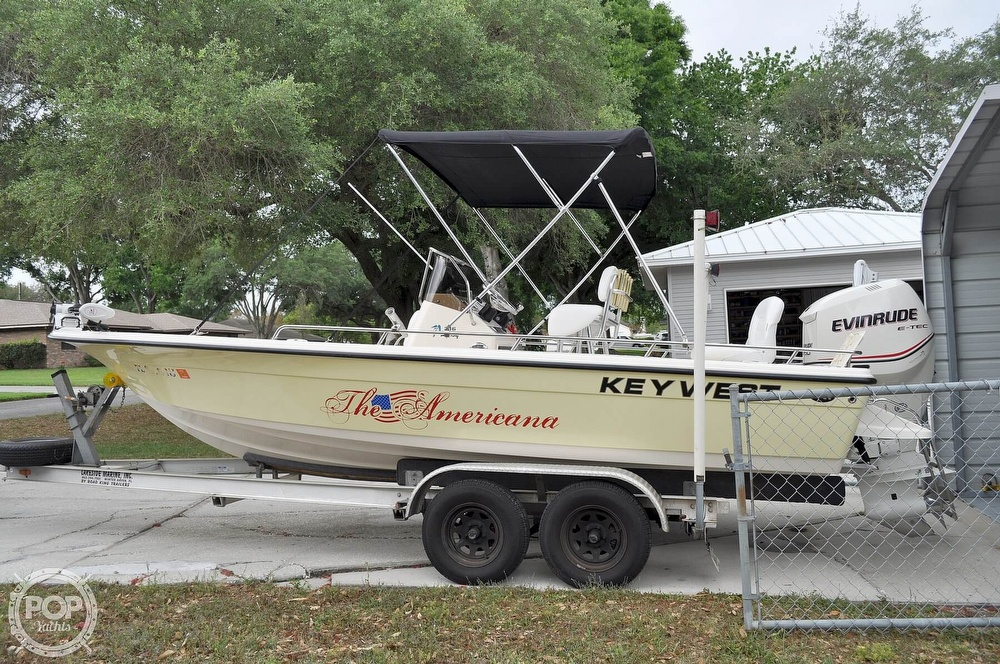 2007 Key West boat for sale, model of the boat is 216 Bay Reef & Image # 4 of 40