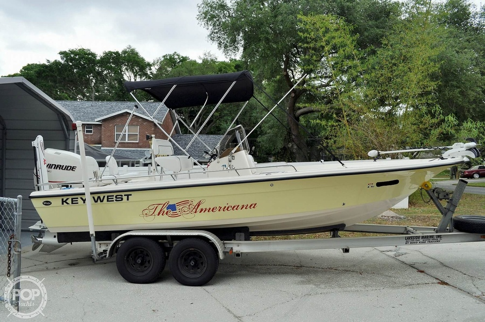 2007 Key West boat for sale, model of the boat is 216 Bay Reef & Image # 18 of 40