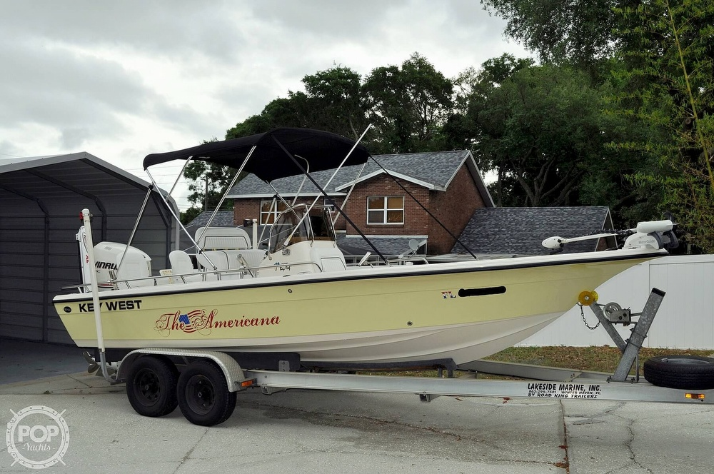 2007 Key West boat for sale, model of the boat is 216 Bay Reef & Image # 19 of 40