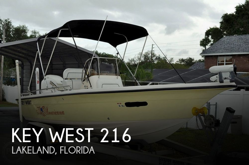 2007 Key West boat for sale, model of the boat is 216 Bay Reef & Image # 1 of 40