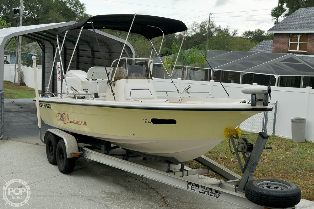 2007 Key West boat for sale, model of the boat is 216 Bay Reef & Image # 20 of 40