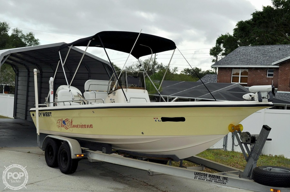 2007 Key West boat for sale, model of the boat is 216 Bay Reef & Image # 21 of 40