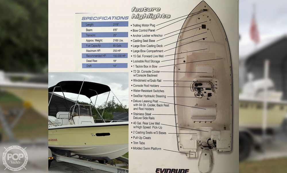 2007 Key West boat for sale, model of the boat is 216 Bay Reef & Image # 7 of 40