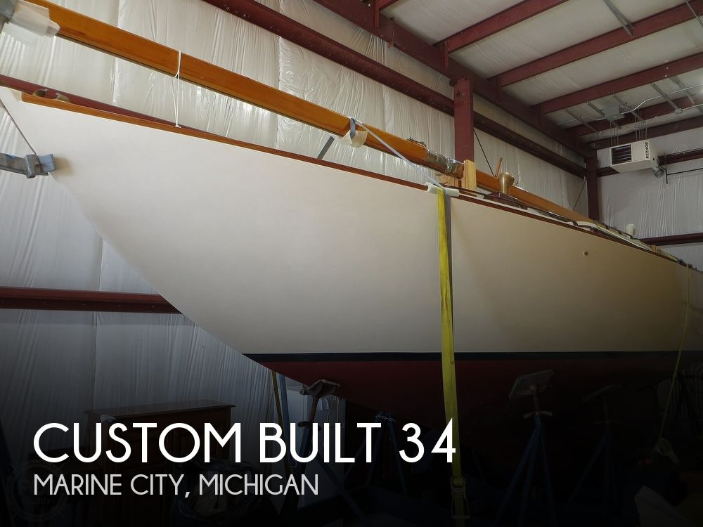 1953 Custom boat for sale, model of the boat is 34 Nielsen & Image # 1 of 40