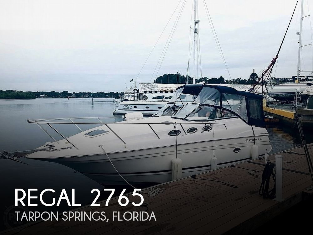 Used Regal 27 Boats For Sale by owner | 2006 Regal 2765 Commodore
