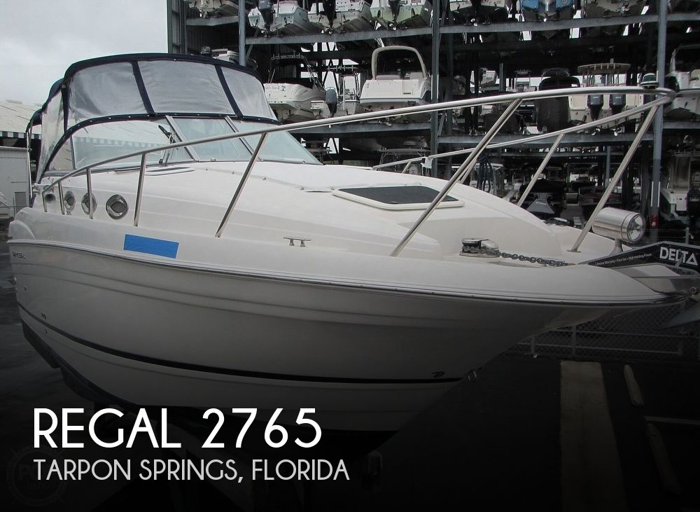 2006 Regal boat for sale, model of the boat is 2765 Commodore & Image # 1 of 40
