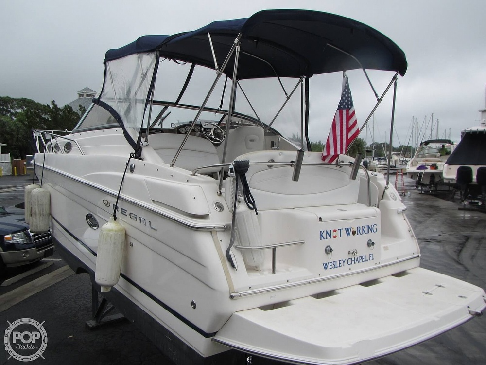 2006 Regal boat for sale, model of the boat is 2765 Commodore & Image # 18 of 40