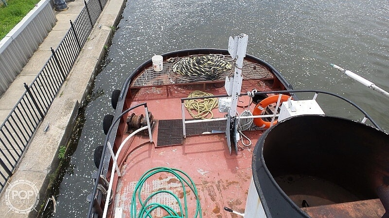 1964 52' Steel Tug Boat boat for sale, model of the boat is Larose Louisiana Built & Image # 7 of 40
