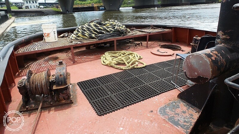 1964 52' Steel Tug Boat boat for sale, model of the boat is Larose Louisiana Built & Image # 21 of 40