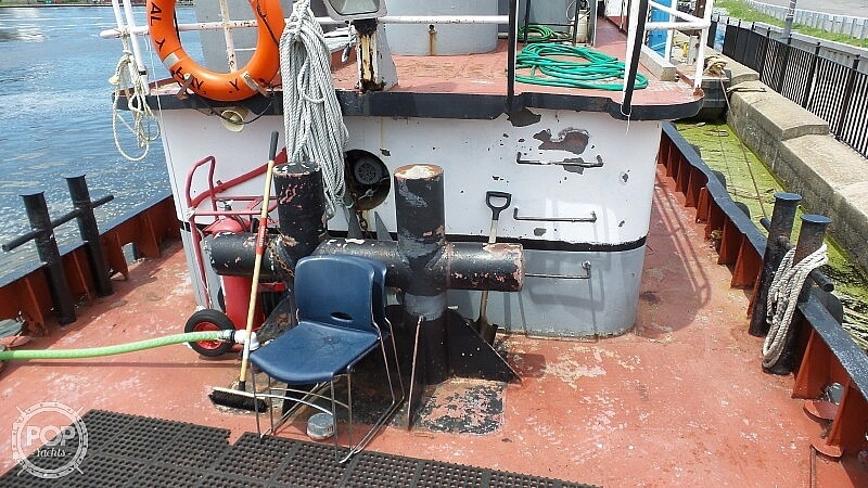 1964 52' Steel Tug Boat boat for sale, model of the boat is Larose Louisiana Built & Image # 23 of 40