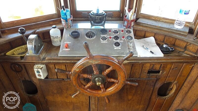 1964 52' Steel Tug Boat boat for sale, model of the boat is Larose Louisiana Built & Image # 34 of 40