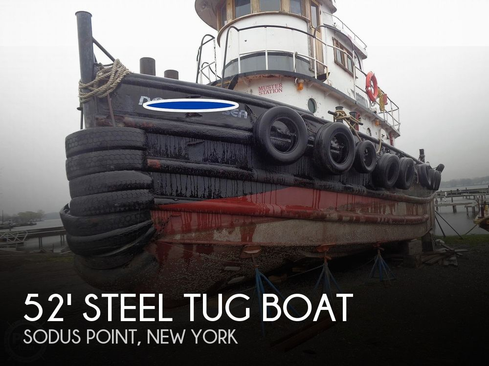 1964 52' Steel Tug Boat boat for sale, model of the boat is Larose Louisiana Built & Image # 1 of 40