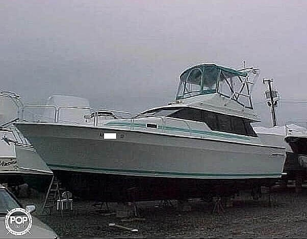 1991 Mainship boat for sale, model of the boat is 35 Mediterranean & Image # 19 of 40
