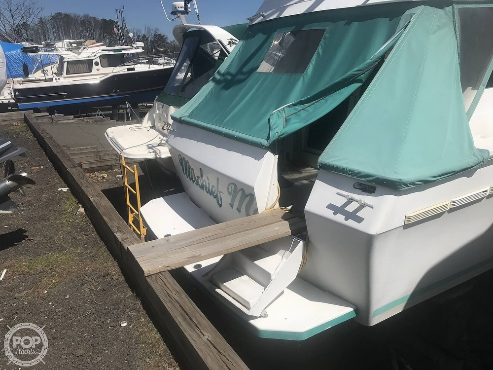 1991 Mainship boat for sale, model of the boat is 35 Mediterranean & Image # 25 of 40
