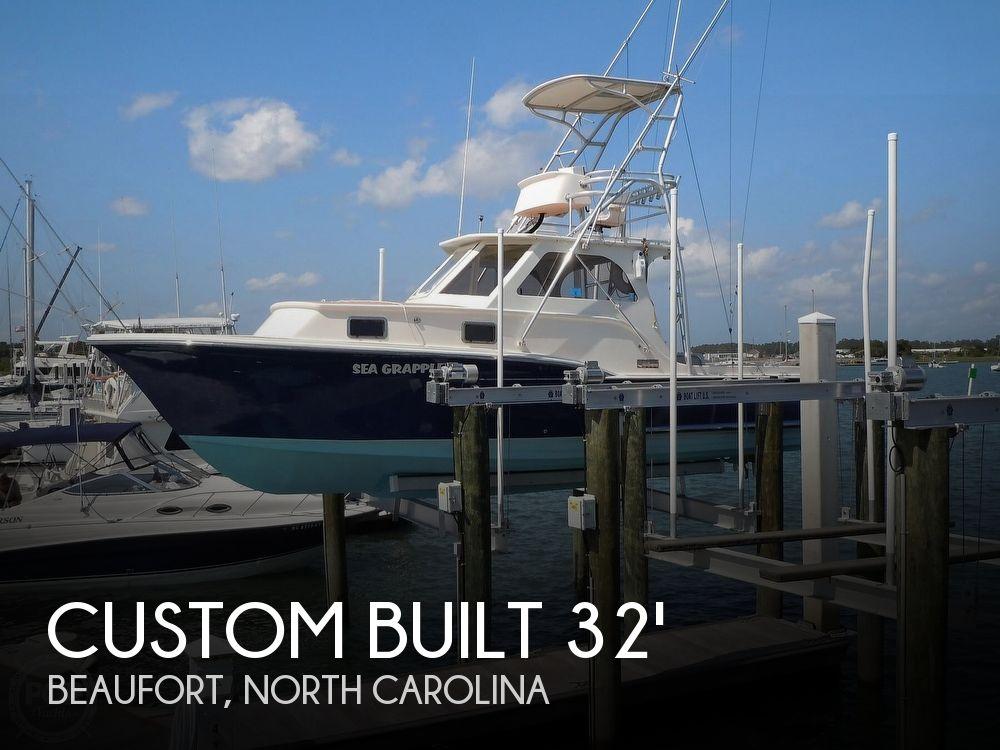 2008 Custom boat for sale, model of the boat is 32ft Diesel Sport fisherman & Image # 1 of 40