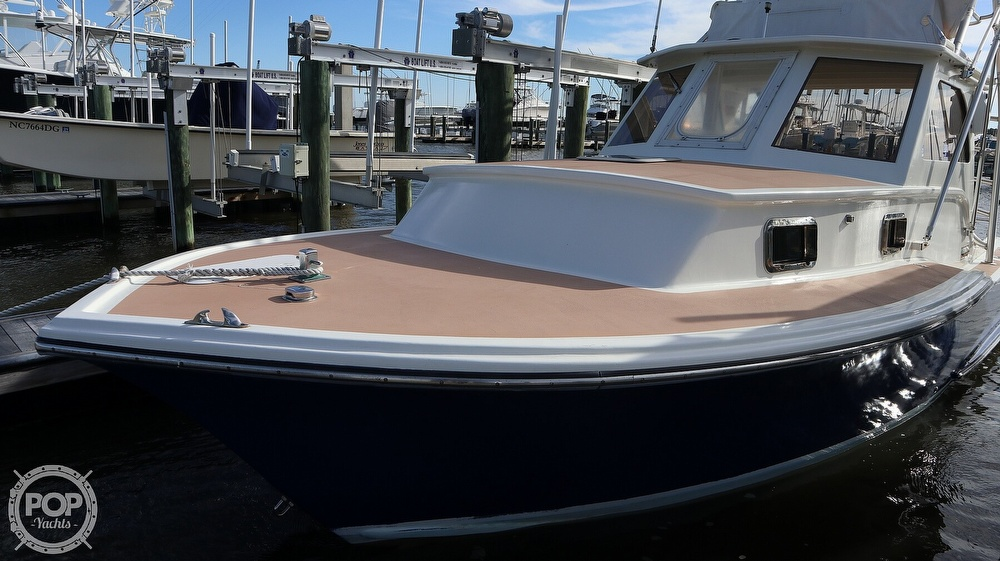2008 Custom boat for sale, model of the boat is 32ft Diesel Sport fisherman & Image # 10 of 40