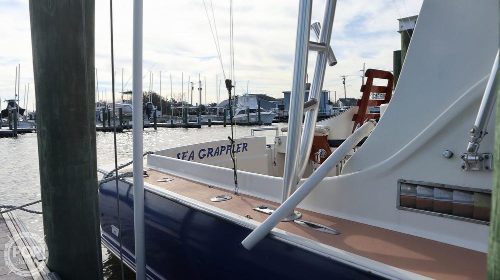 2008 Custom boat for sale, model of the boat is 32ft Diesel Sport fisherman & Image # 20 of 40