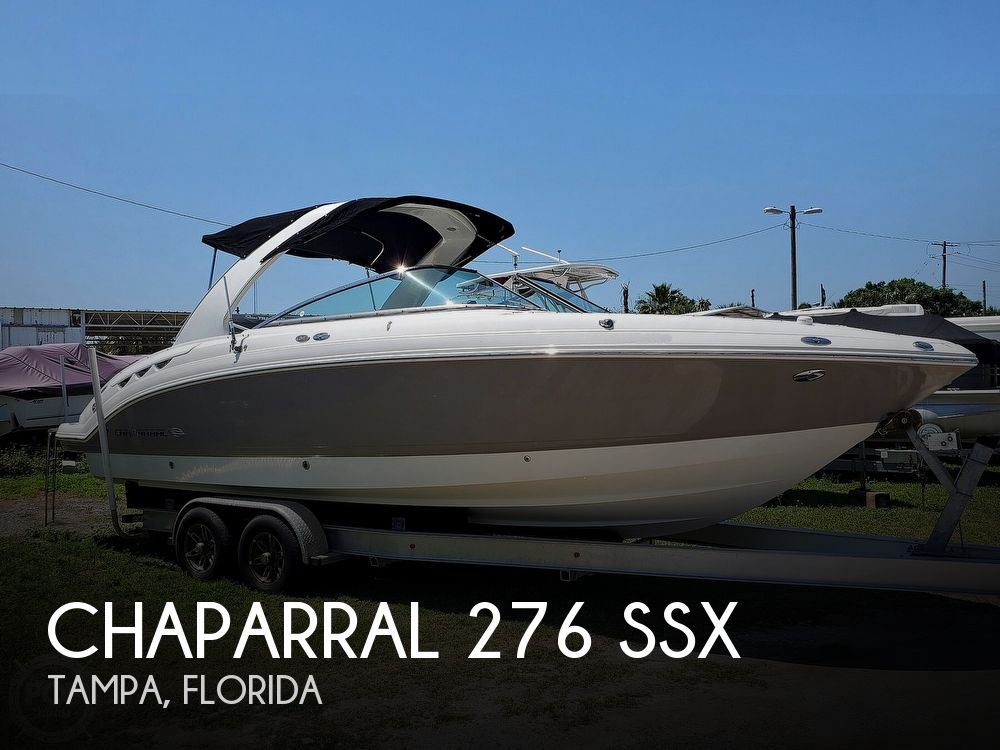 2007 Chaparral boat for sale, model of the boat is 276 SSX & Image # 1 of 40