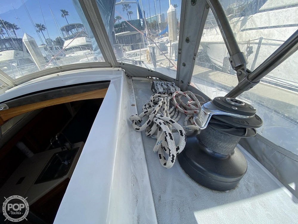 1985 Wilderness Yachts boat for sale, model of the boat is 40 Mull Wilderness & Image # 9 of 40