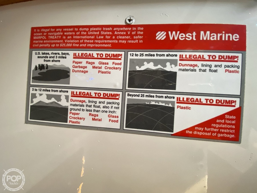 1985 Wilderness Yachts boat for sale, model of the boat is 40 Mull Wilderness & Image # 28 of 40