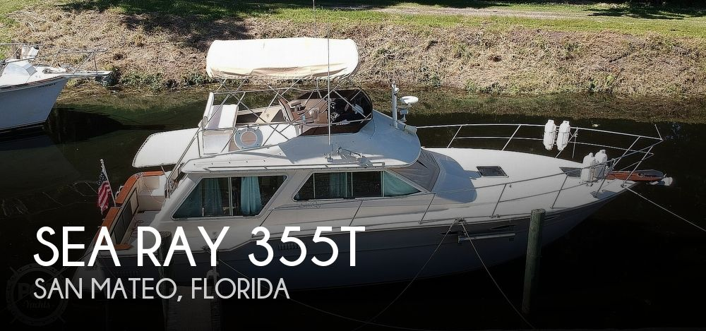 1982 Sea Ray boat for sale, model of the boat is 355T & Image # 1 of 40