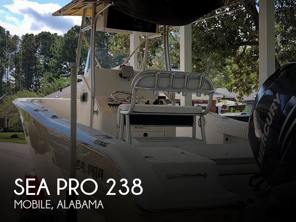 Used Sea Pro Boats For Sale by owner | 2007 Sea Pro 238