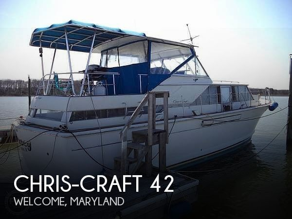 Used Chris-Craft Motoryachts For Sale by owner | 1968 Chris-Craft 42 Commander