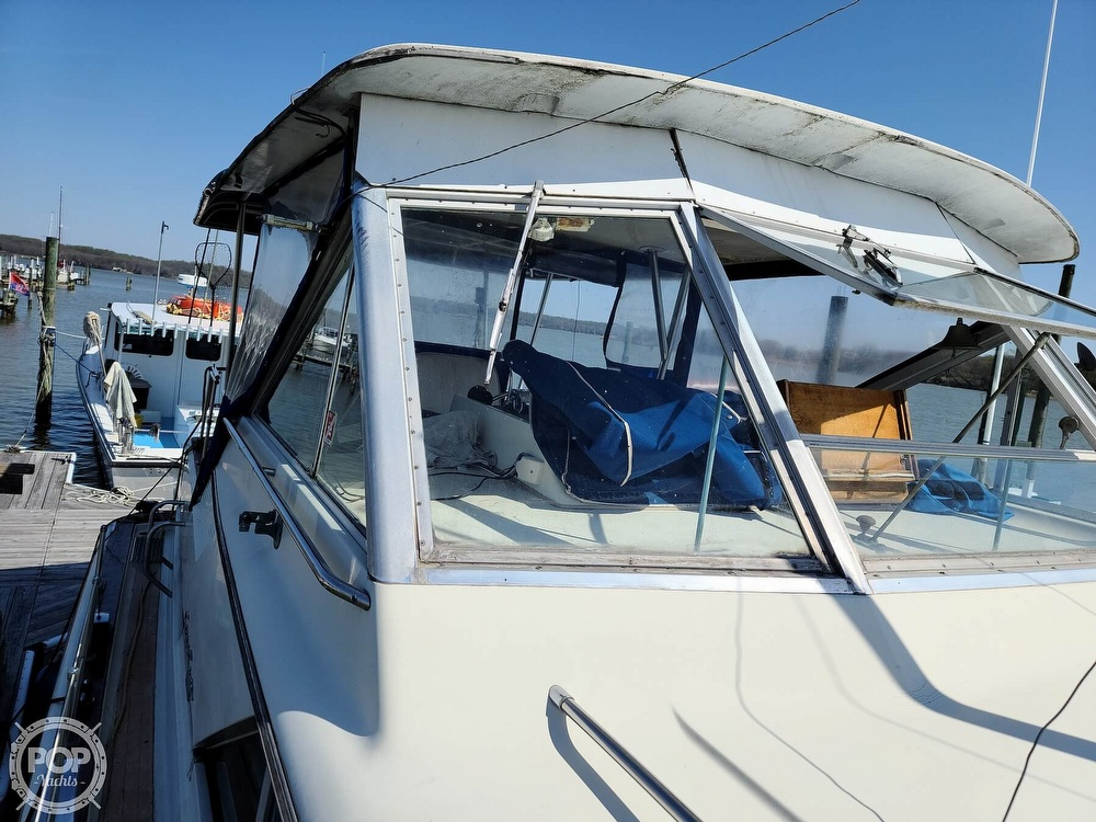 1968 Chris Craft boat for sale, model of the boat is 42 Commander & Image # 29 of 40