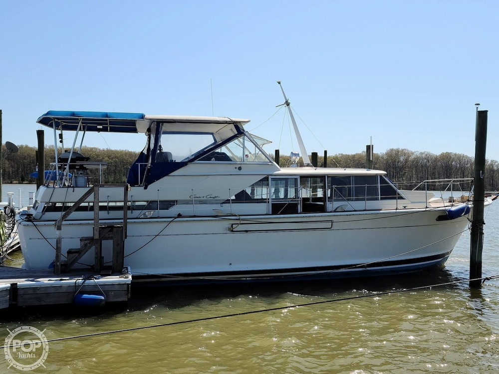 1968 Chris Craft boat for sale, model of the boat is 42 Commander & Image # 4 of 40