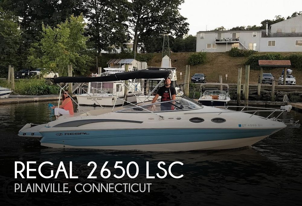 2002 Regal boat for sale, model of the boat is 2650 LSC & Image # 1 of 40