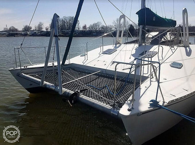 1988 Banshee boat for sale, model of the boat is 35 & Image # 20 of 32