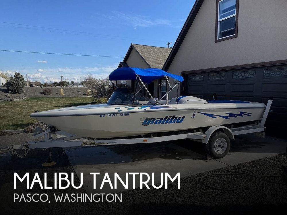 Used Boats For Sale in Kennewick, Washington by owner | 1997 20 foot Malibu Tantrum