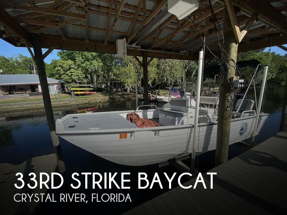 2016 33rd Strike Group boat for sale, model of the boat is Baycat & Image # 1 of 40
