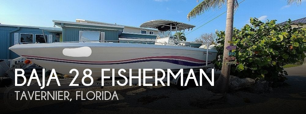 1994 BAJA 28 FISHERMAN for sale