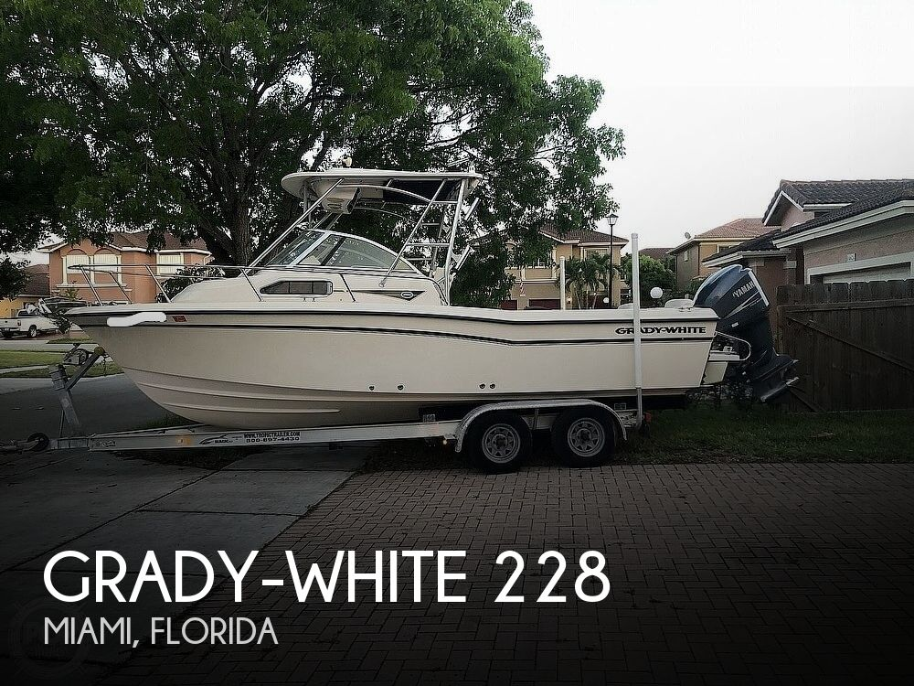 2008 Grady-White boat for sale, model of the boat is Seafarer 228 & Image # 1 of 40
