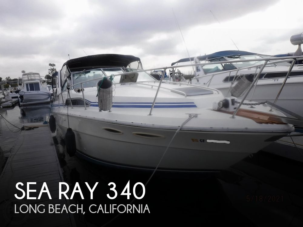 1986 Sea Ray boat for sale, model of the boat is 340 Sundancer & Image # 1 of 40