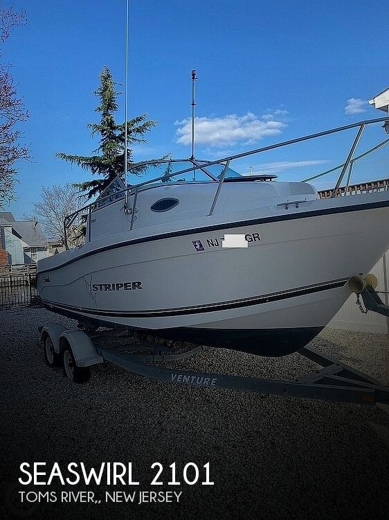 2002 Striper boat for sale, model of the boat is 2101 & Image # 1 of 40