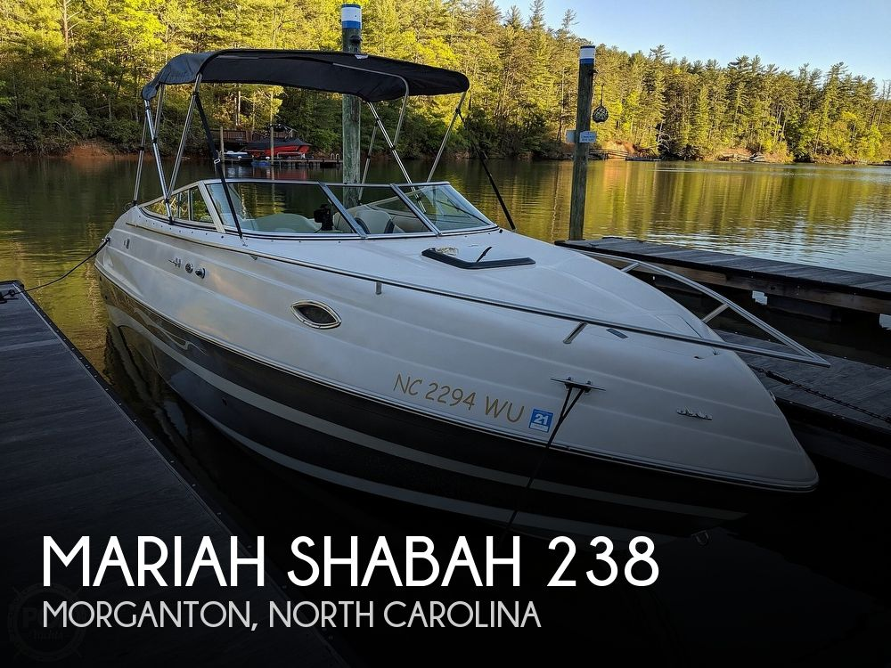 Used Boats For Sale in Kingsport, Tennessee by owner | 2001 Mariah Shabah 238