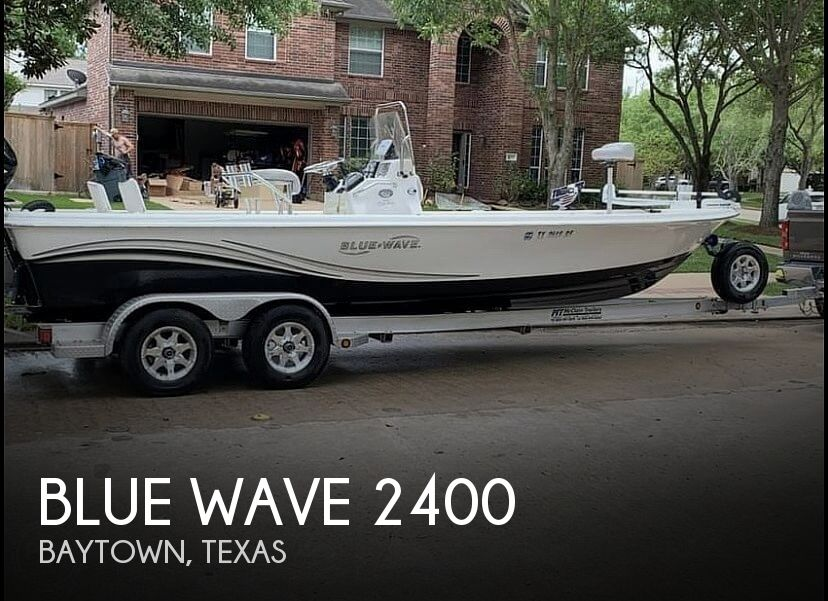 Used Blue Wave Boats For Sale by owner | 2011 Blue Wave 2400 pure bay