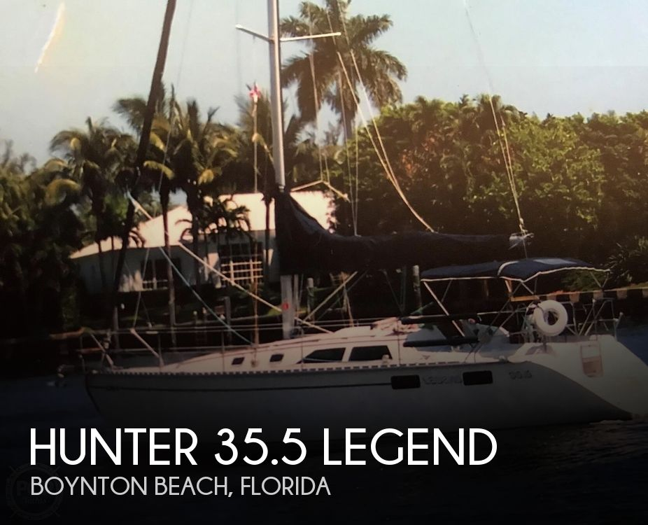 1990 Hunter boat for sale, model of the boat is 35.5 Legend & Image # 1 of 40