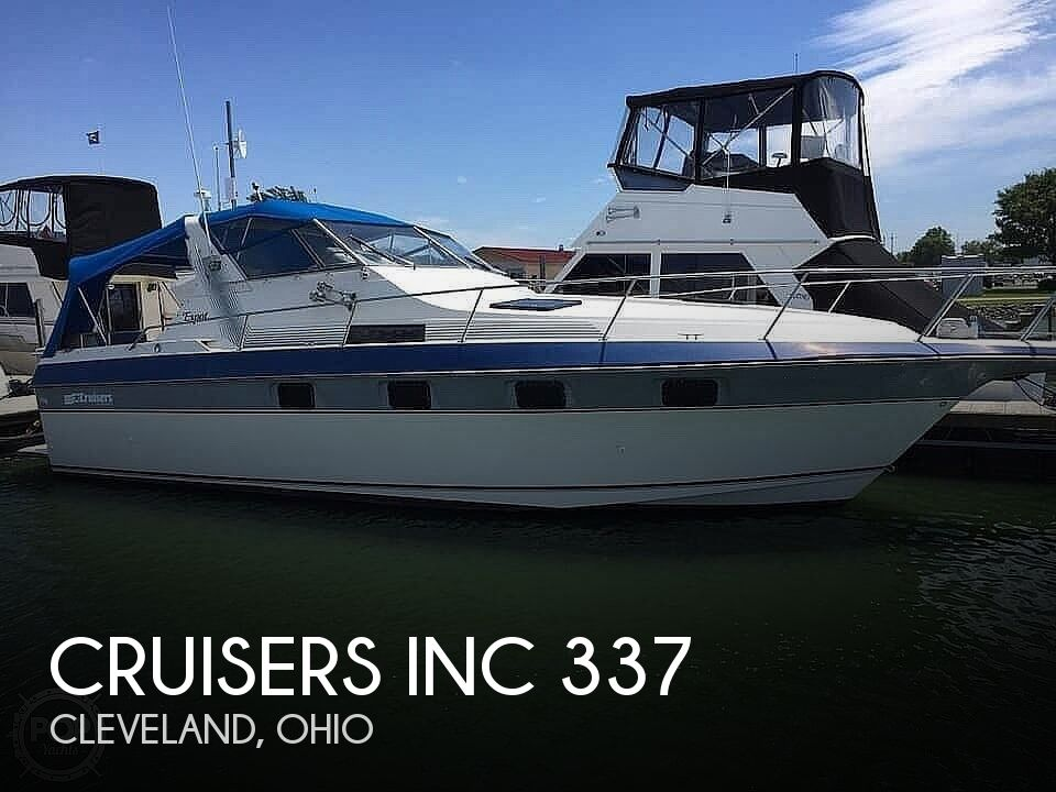 1986 Cruisers Yachts boat for sale, model of the boat is 337 Esprit & Image # 1 of 40