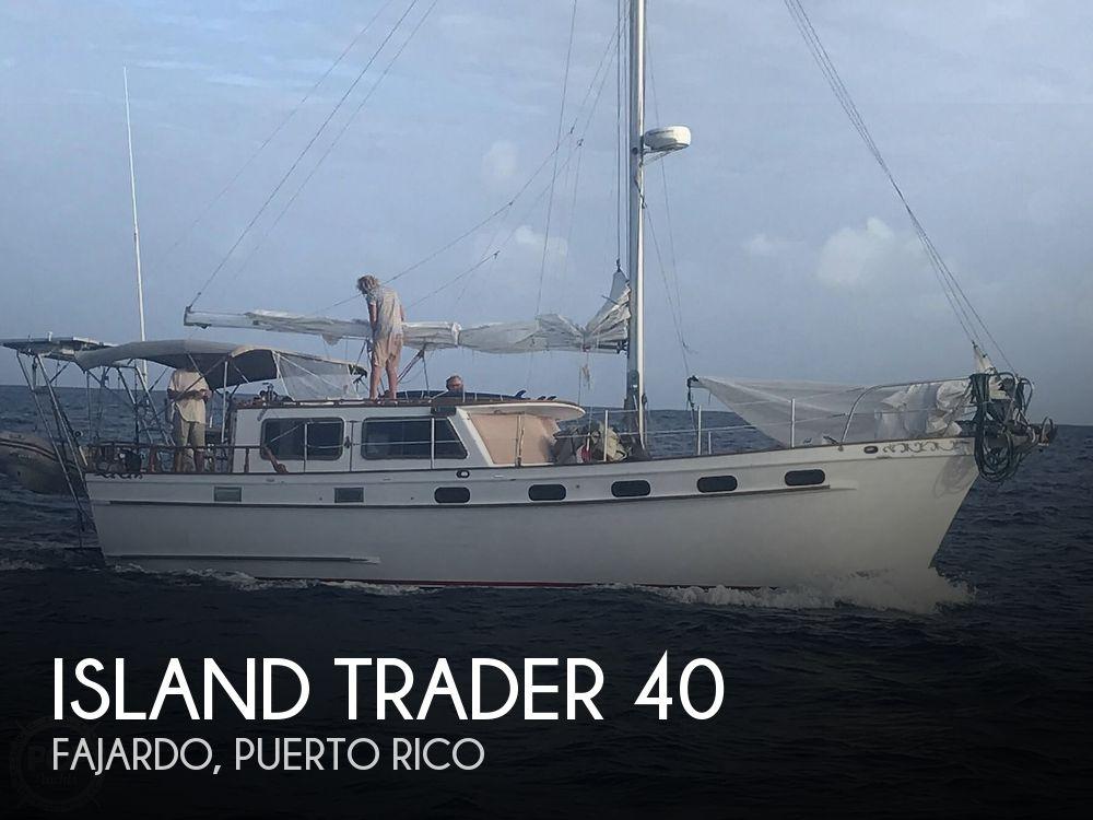 1985 Island Trader boat for sale, model of the boat is 40 Motorsailer & Image # 1 of 40