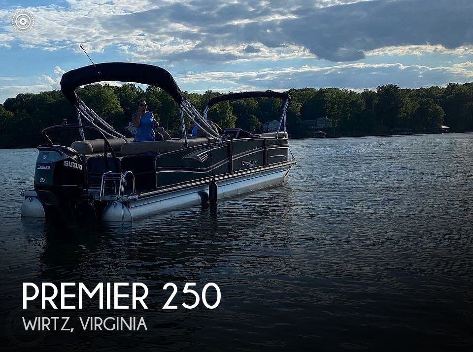 Used Boats For Sale in Virginia by owner | 2020 Premier Pontoons 250 Grand Majestic RF
