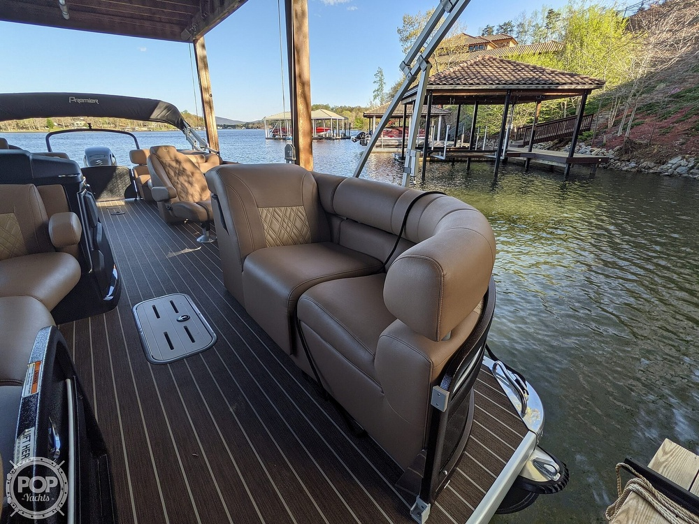 2020 Premier Pontoons boat for sale, model of the boat is 250 Grand Majestic RF & Image # 21 of 40