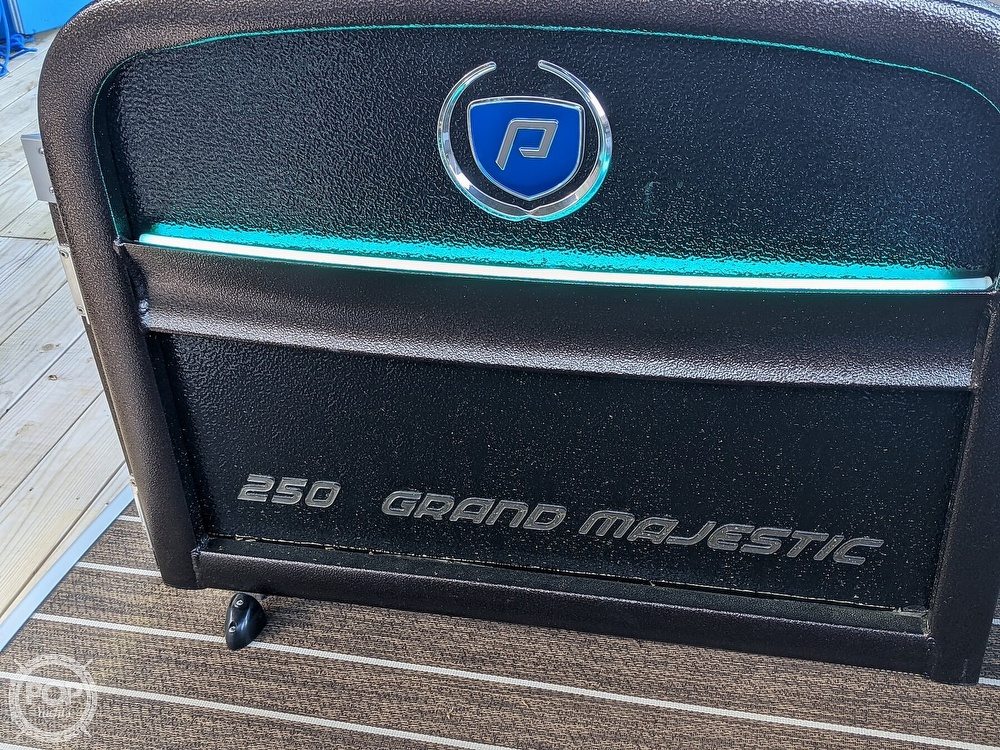 2020 Premier Pontoons boat for sale, model of the boat is 250 Grand Majestic RF & Image # 34 of 40
